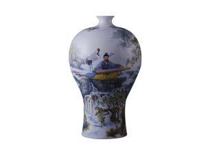 雍荷堂珐琅彩瓷器艺术品高山流水页缩略图