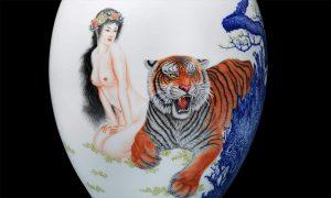 雍荷堂珐琅彩极品瓷器艺术品