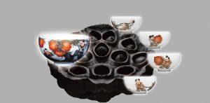 雍荷堂珐琅彩艺术品极品名瓷赏析0
