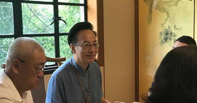 """雍荷堂堂主任刚讲述太极文化""""无极之势"""""""
